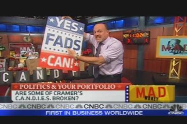 Cramer's C.A.N.D.I.E.S