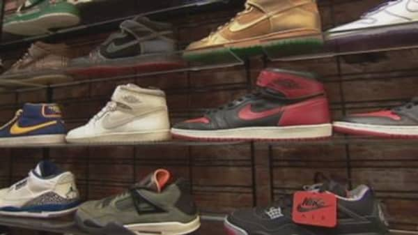 Alternative Investing: Sneakers