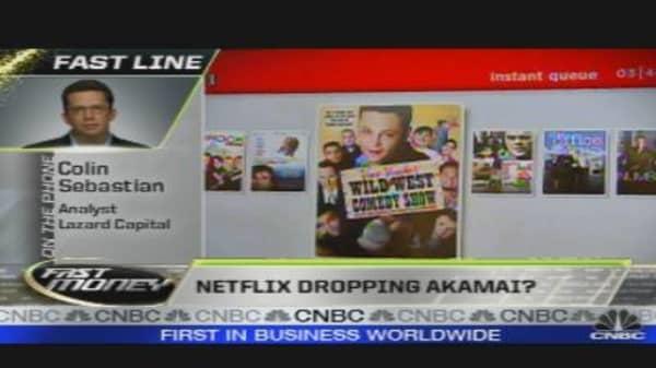 Netflix Shifting Away from Akamai?