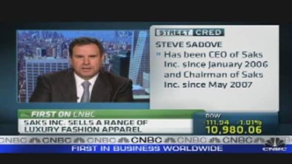 Saks CEO on Retailer's Success