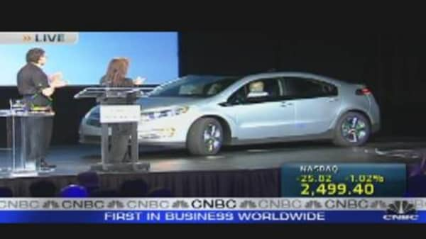 Volt Rolls Off Assembly Line