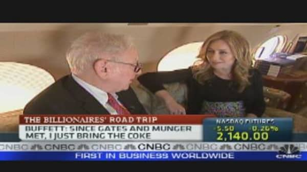 On the Road with Buffett & Gates