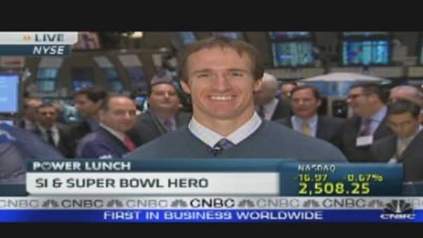 Drew Brees: Sportsman of the Year