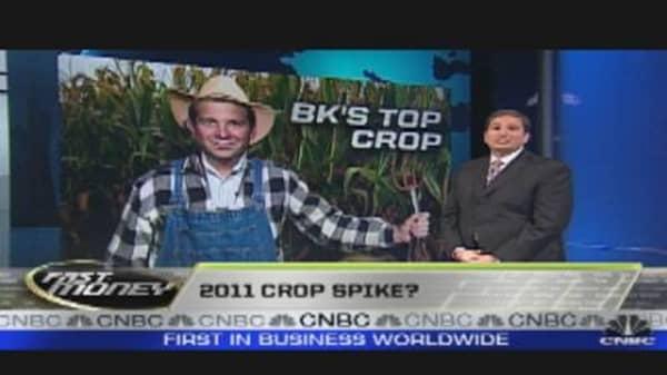 2011 Crop Spike?