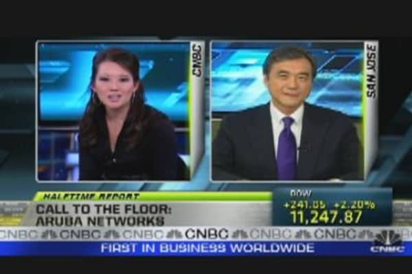 Call to the Floor: Aruba Networks CEO