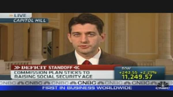 Rep. Ryan Reacts to Deficit Commission Report