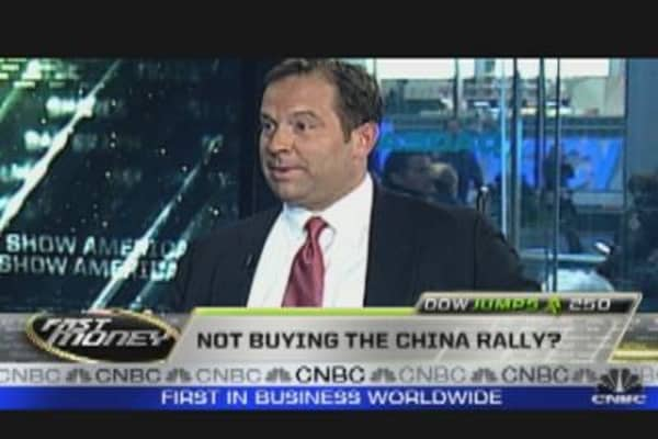 Not Buying China Rally