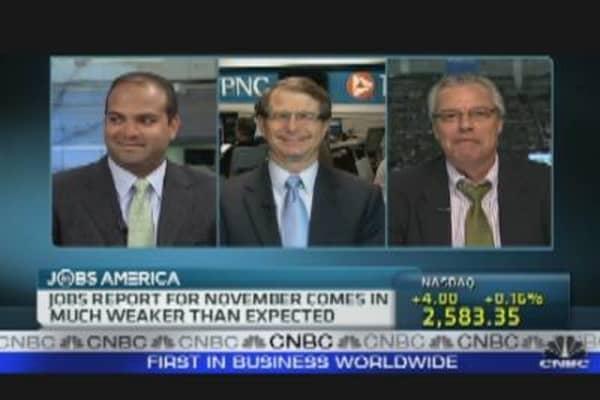 Reaction to November Jobs Report