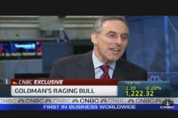 Goldman Sachs Becomes Raging Bull