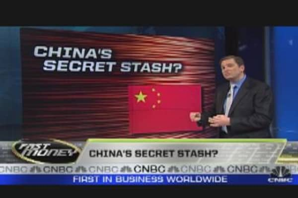 The Wall: China's Secret Stash?