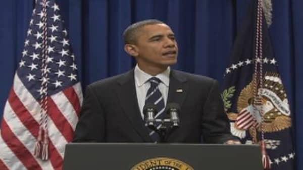 Obama on Tax Cuts