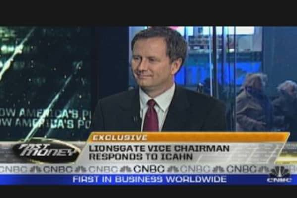 Lionsgate Vice Chair Sounds Off