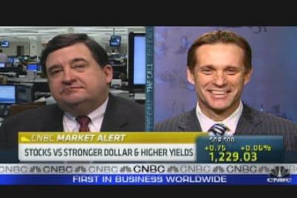Stocks vs. Stronger Dollar
