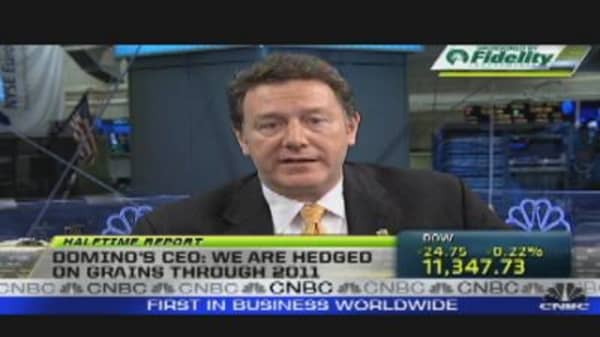 Call to the Floor: Domino's Pizza CEO