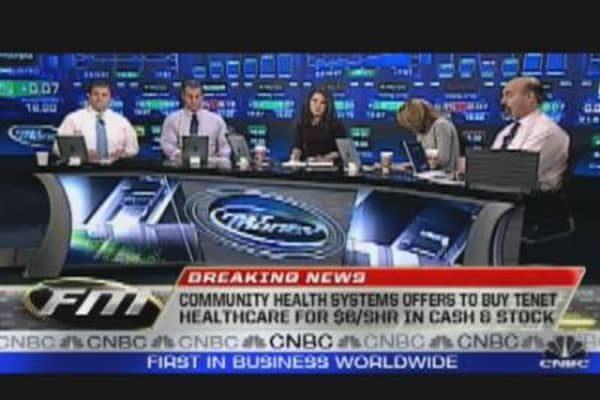 Community Health Systems to Buy Tenet Healthcare
