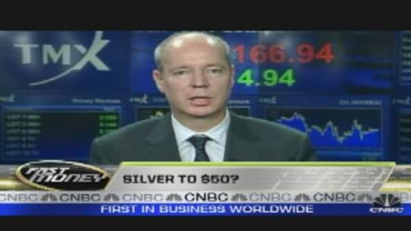 Call of the Day: Silver to $50?