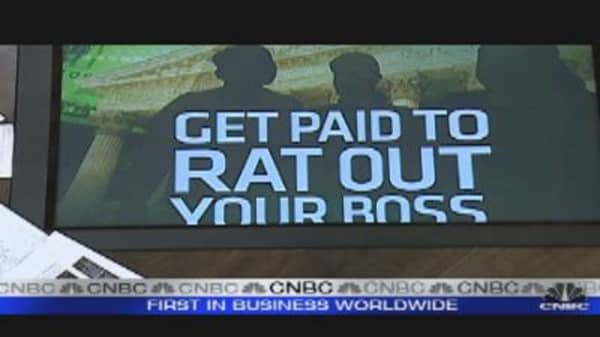 Get Paid to Rat Out