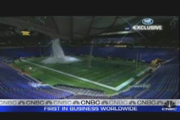 Metrodome Roof Collapses Under Snow