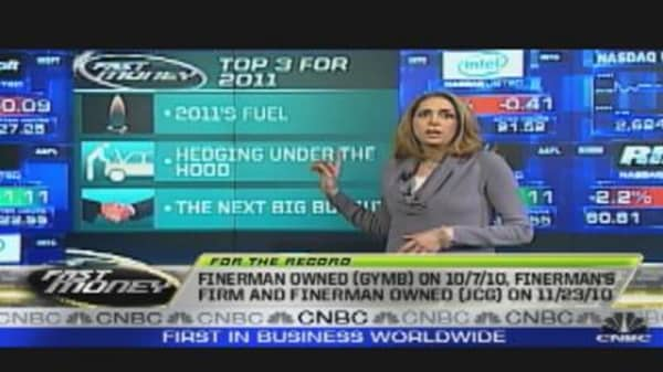 Finerman's Trade: Top Three for 2011