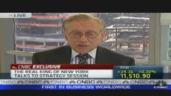 Larry Silverstein's Real Estate Outlook