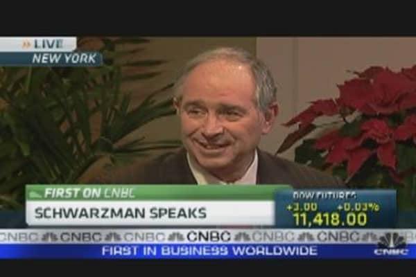 Schwarzman Speaks