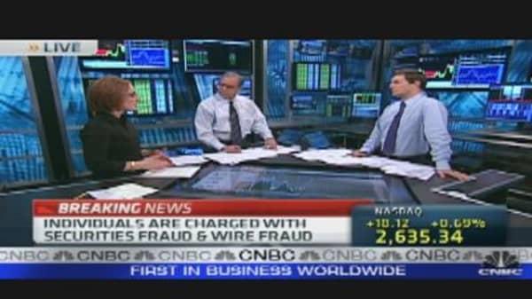 Insider Trading Arrests