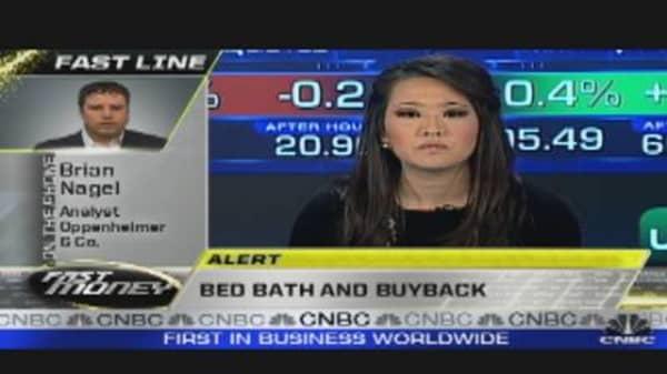 Bed, Bath & Buyback
