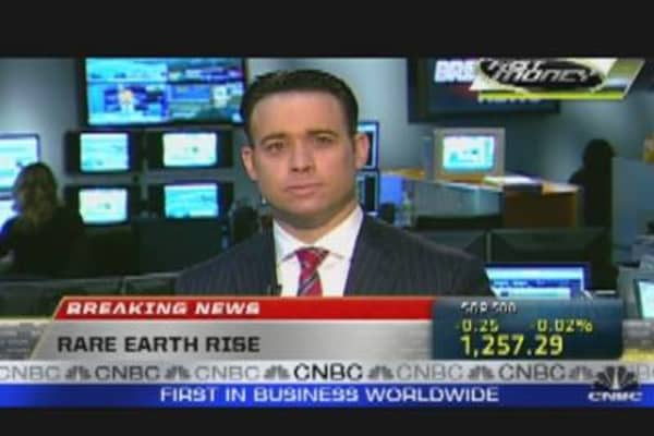 Breaking News: Rare Earth Rise