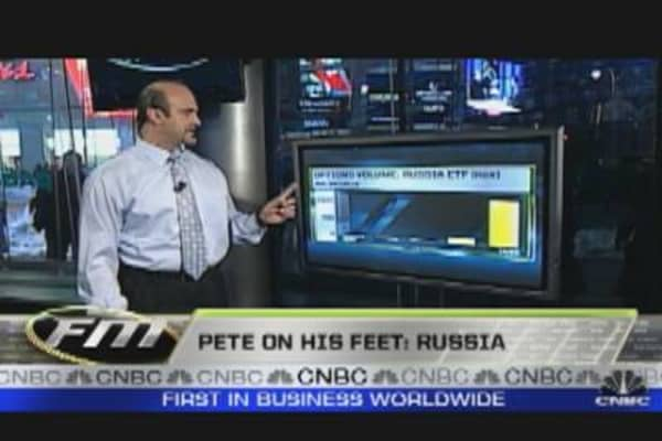 Pete on His Feet: Russia