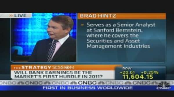 Bank Earnings: 2011's First Hurdle?