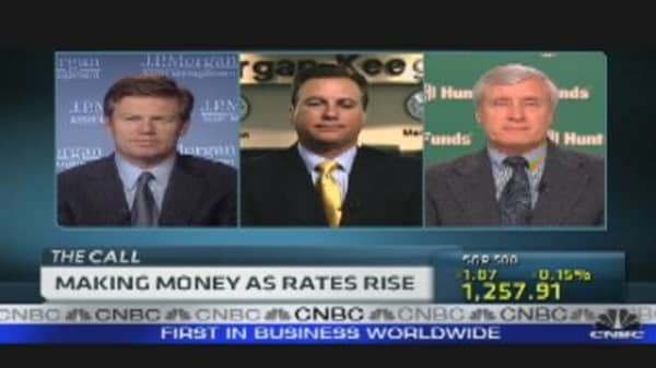 Making Money as Rates Rise