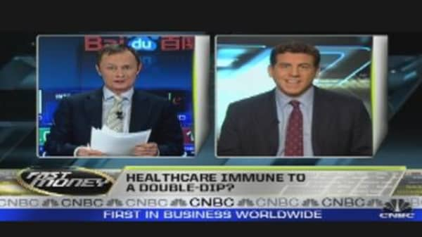 Health Care: A Double-Dip Proof Play?