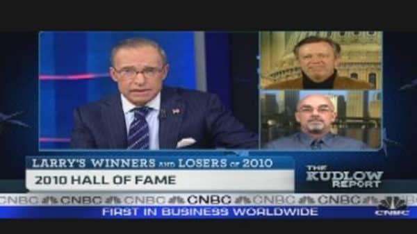 Winners & Losers of 2010: Bond Market, Bernanke