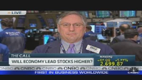 Economy to Lead Stocks Higher?