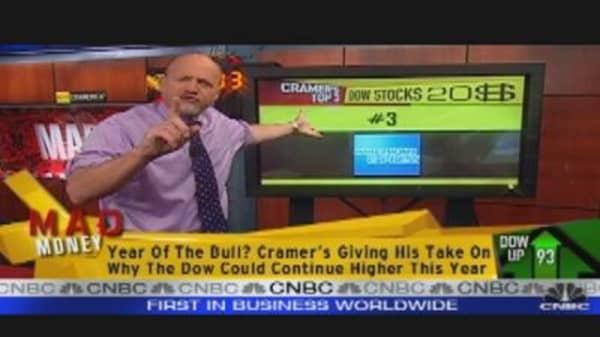 Cramer's Top Dow