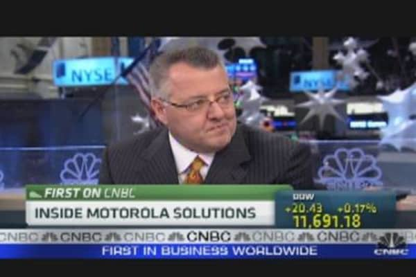 Motorola Solutions CEO on What Lies Ahead