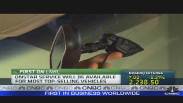 OnStar Expands Beyond GM