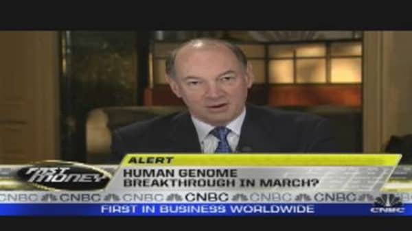 Human Genome Breakthrough in March?