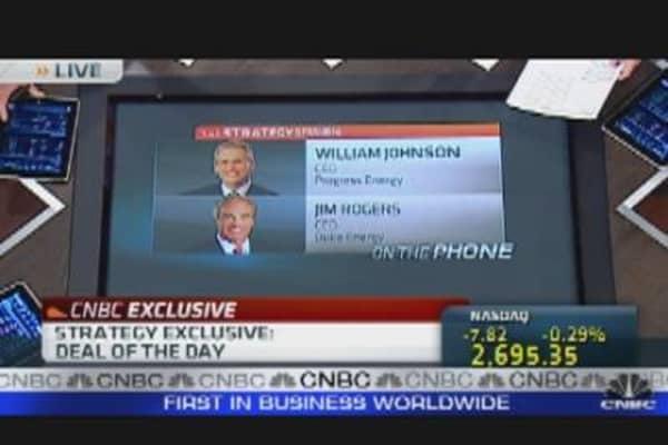 CEOs of Duke & Progress Energy Discuss Deal