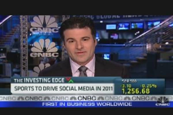 Sports to Drive Social in 2011?