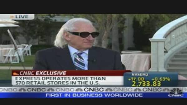 Express CEO on Driving Retail Sales