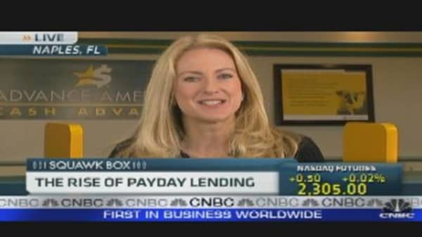 The Rise of Payday Lending