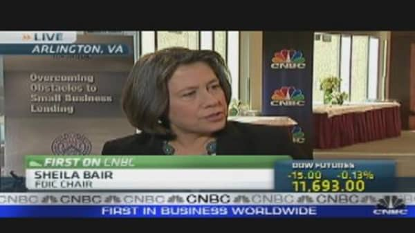 Bair on Banking, Small Businesses