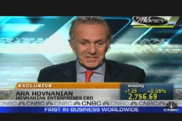 Hovnanian's Homebuilding Outlook