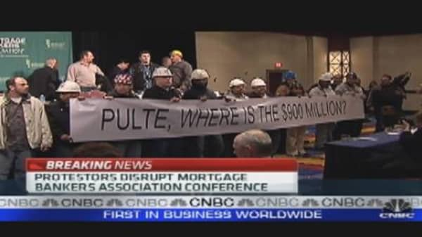 Protests at MBA Conference