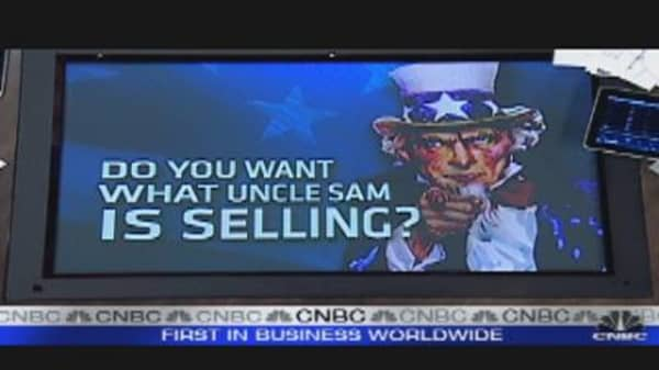Uncle Sam Selling AIG