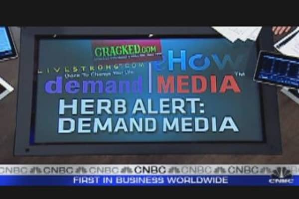 Herb Alert: Demand Media