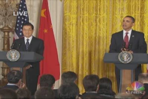 Hu & Obama Remarks