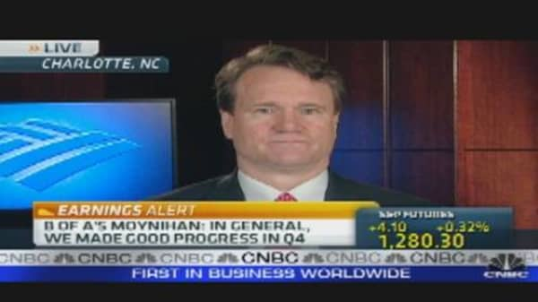 BofA CEO Talks Earnings