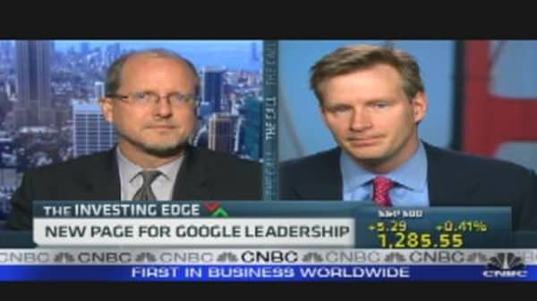 New Page for Google Leadership